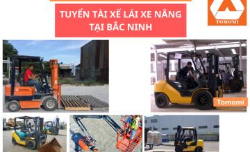 Tuyển lái xe nâng mới nhất 2020 tại Hà Nội, Bắc Ninh, Hải Phòng & các tỉnh miền Bắc
