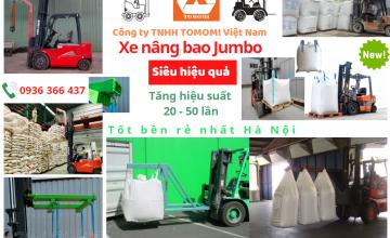 Xe nâng bao Jumbo giá tốt nhất Hà Nội