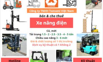 Xe nâng điện giá bao nhiêu