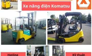 Giá xe nâng điện KOMATSU